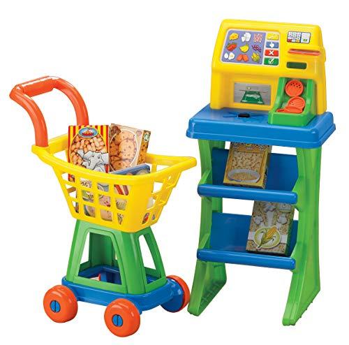 Americana Plstico Juguetes Mi propio Shop N Mercado Pago Conjunto, colores pueden variar