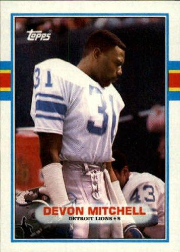 brand new ae3a4 47db4 Amazon.com: 1989 Topps Football Card #363 Devon Mitchell ...