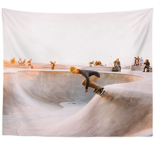 Westlake Art - Skateboarding Sport - Wall Hanging Tapestry - Picture Photography Artwork Home Decor Living Room - 68x80 Inch (203C5)