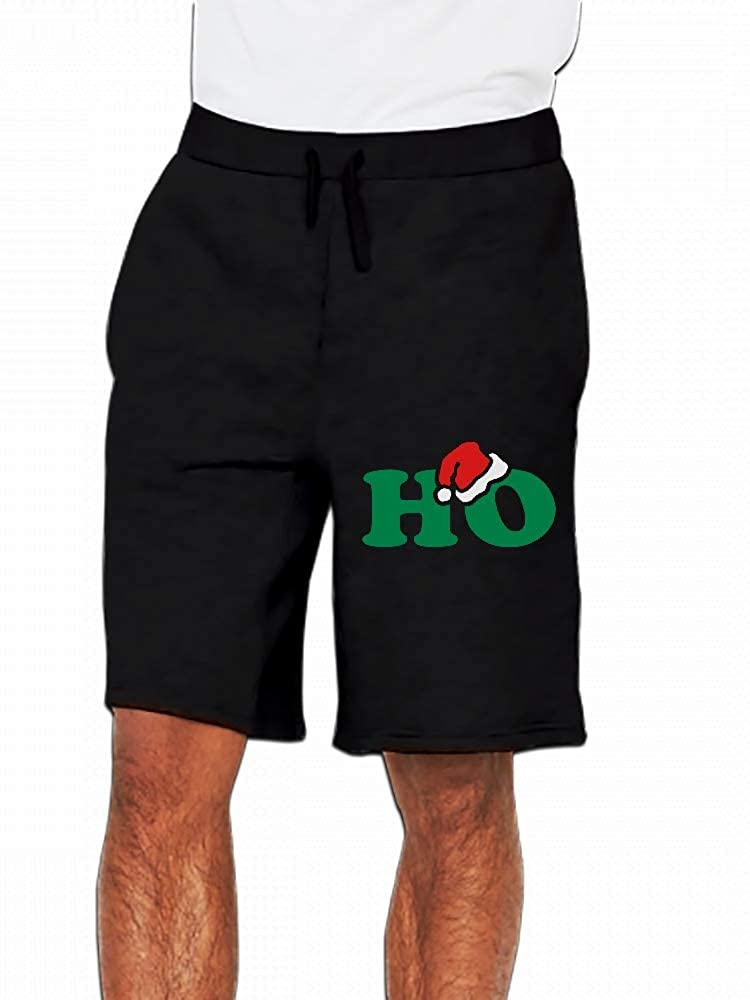 Christmas Season Greetings Ho Mens Casual Shorts Pants