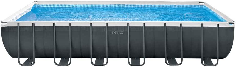 Intex 26364NP Piscina Ultra Frame Rect, 732 x 366 x 132 cm: Amazon.es: Jardín