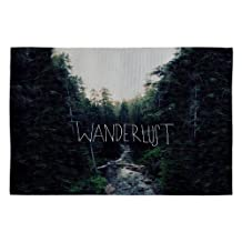DENY Designs Leah Flores WanderluSt 1 Woven Rug, 2 by 3-Feet