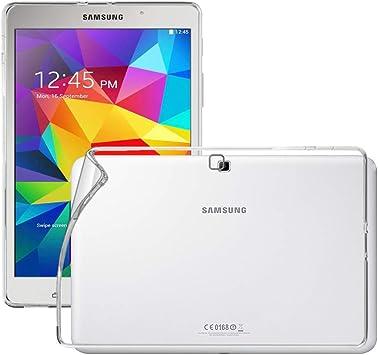 Funda Carcasa Gel Transparente para Samsung Galaxy Tab A 7 Silicona TPU de Alta Resistencia y Flexibilidad Ultra Fina 0,33mm REY