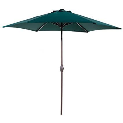 Amazon Com Abba Patio Outdoor Patio Umbrella 9 Feet Aluminum