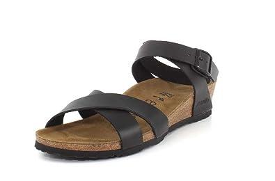 0cb9aca0f6 Amazon.com | Birkenstock Papillio Women's Lola Leather Sandals | Platforms  & Wedges