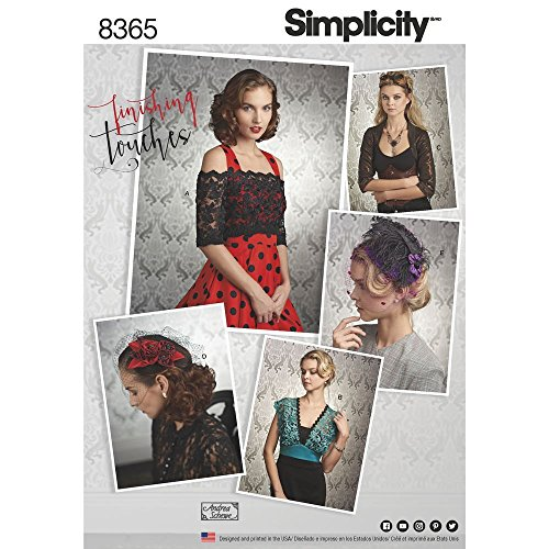 SIMPLICITY 8365 MISSES' COVERUPS, FACINATOR & HAT (SIZE 6-14) SEWING (Best Custumes)