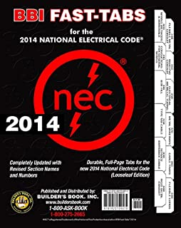 2014 national electrical code nec fast tabs for softcover spiral 2014 national electrical code nec looseleaf bbi fast tabs fandeluxe Gallery