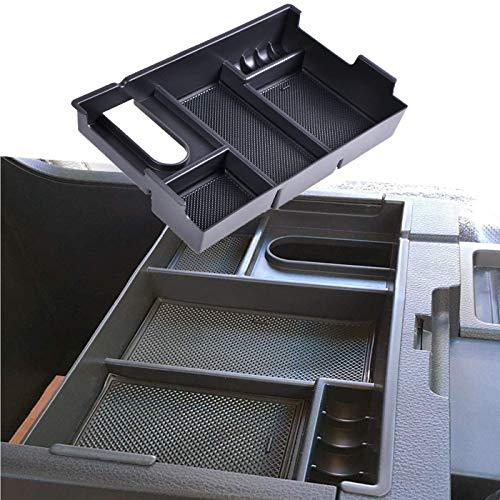 (omotor Center Console Insert Organizer Tray Armrest Box Glove Box Storage for Toyota (Toyota Tundra 2014-2018))