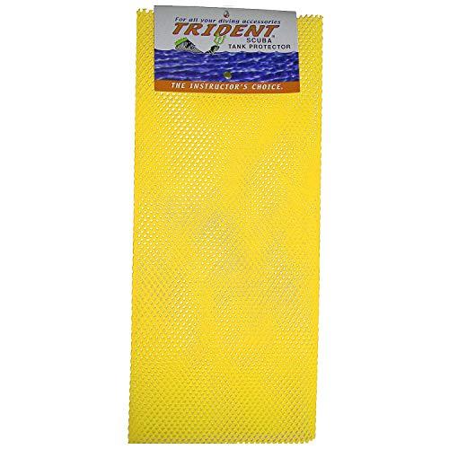 Trident Scuba Tank Net Protectors,Yellow