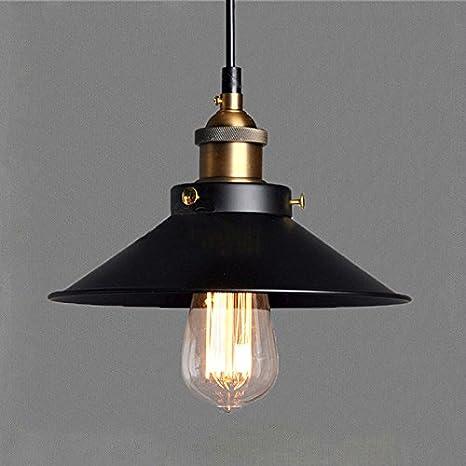 Vintage lámparas de cobre E27 110 / 220V Industrial Mini Edison Cono de luz de techo Mini Semi Flush Mount lámpara de luz de techo para Cafe Dining ...
