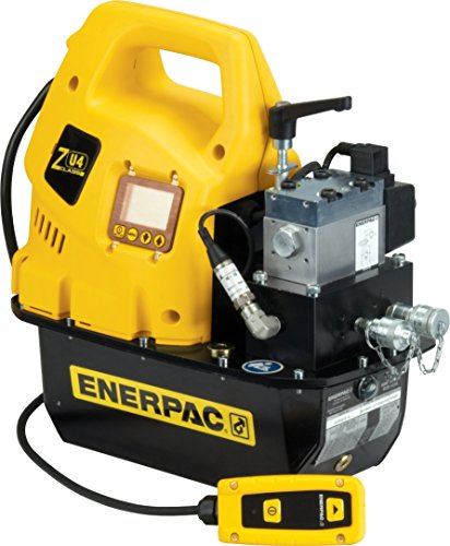 Enerpac ZU4208TB-Q Universal Electric Pump with Torque VE42Q Valve Liquid Crystal Display 115V and 8 L Usable Oil Capacity by Enerpac