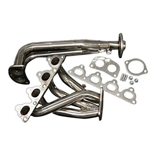 XS-Power HEADER EXHAUST MANIFOLD SOHC D-SERIES D15 D16 1.5L 1.6L CIVIC CRX DEL SOL 88-00 ()