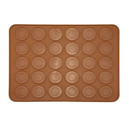 NuiOOui131 - Molde de silicona para horno, 30 cavidades, fácil de ...