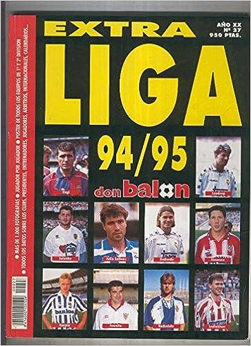 Don Balon extra numero 27: liga 94/95: Amazon.es: Varios: Libros