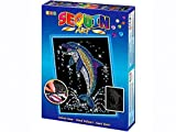 Sequin Art Blue, Dolphin, Sparkling Arts and Crafts Picture Kit; Creative Crafts for Adults and Kids