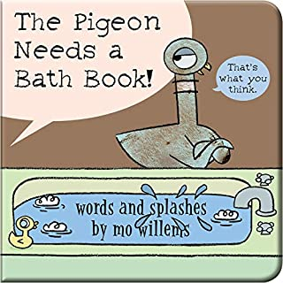 The Pigeon Needs a Bath Book!