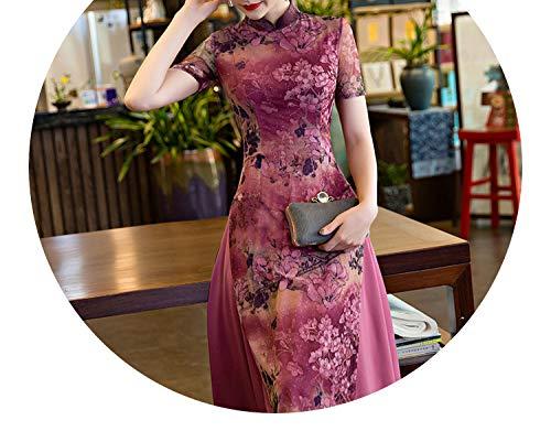 スナップ素晴らしい良い多くの無駄だチャイナドレススタイルの女性の服レトロ長いセクションナショナルスタイルの女性服,7900,ザ?