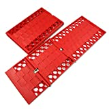 Sushiyi 2 Pack Foldable Tire Traction Mat, Ideal Car Extraction Mat for Tires Stuck in Snow, Sand, Ice & Mud 3.5T No-Slip Recovery Tracks Chains Pad