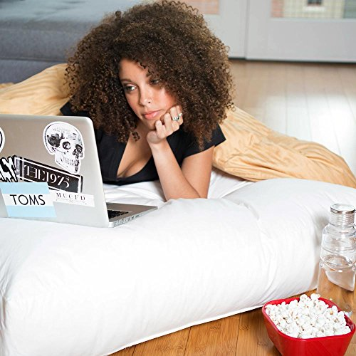 Extra Large Dorm Floor Study Cushion Pillow - 36 x 36 - (College Floor Pillows)