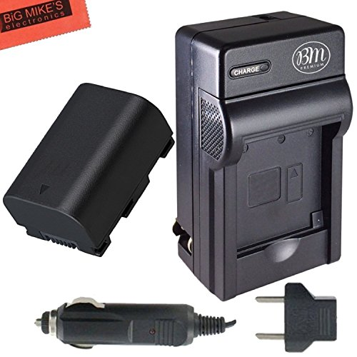 BN-VG114 Battery and Battery Charger for JVC Everio GZ-E1...