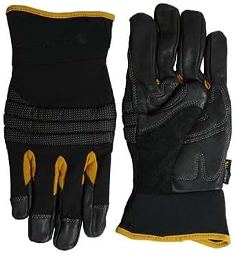 Carhartt Men's Winter Dex Kevlar Reinforced Spandex Work Glove, Black, Small