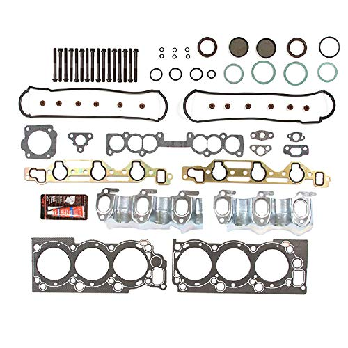 Graphite Head Gasket Bolts Set For 1988-1995 Toyota 4Runner PickUp T100 3.0L V6 SOHC Engine Code -