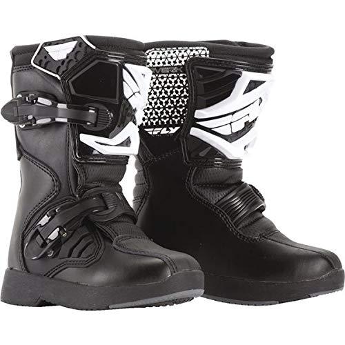 - Fly Racing Black Sz 10 Maverik Pee Wee Boots