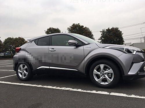 Car Body Molding Overlay Cover Trim Fit Toyota CHR C-HR 2016 2017 ABS Chrome