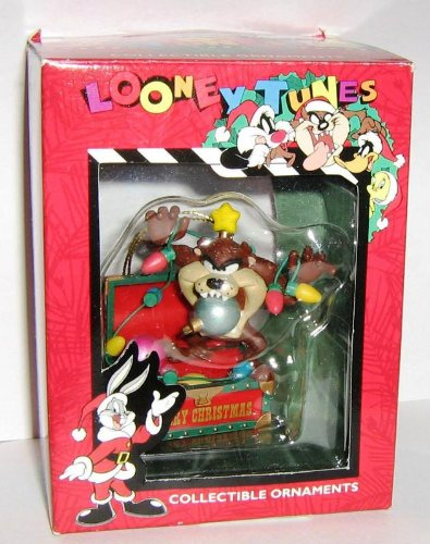 Looney Tunes Collectible Ornament – Taz In Christmas Decorations 1995 - Amazon.com: Looney Tunes Collectible Ornament €� Taz In Christmas