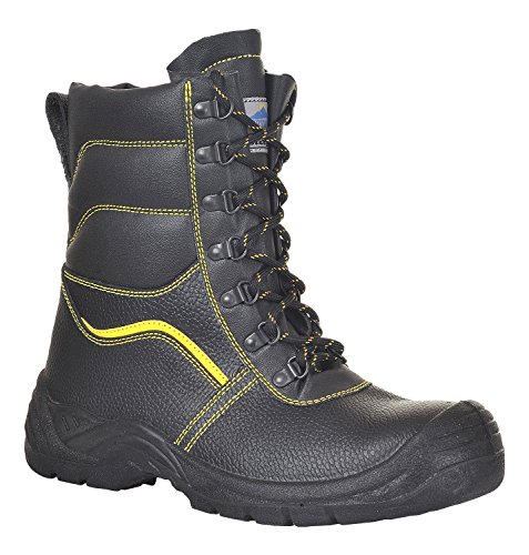 Portwest FW05 - Furlined S3 Bota 47/12, color Negro, talla 47 negro