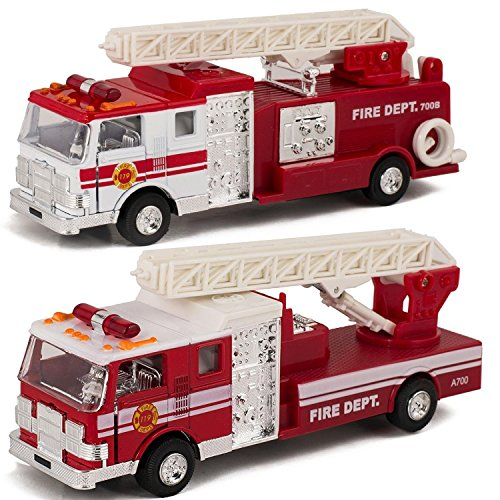 Fire Engine Truck with Ladder 6.5