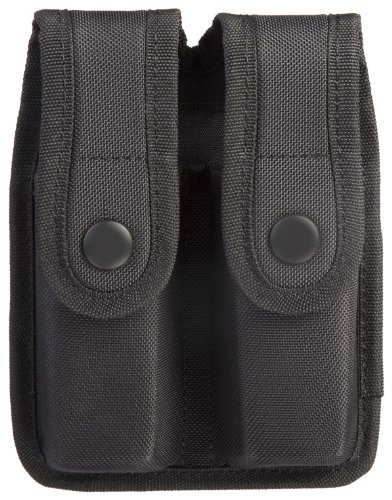 (Uncle Mike's Sentinel Molded Nylon Mag Case, Black (for Glock 21))