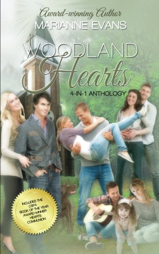 book cover of Woodland Hearts