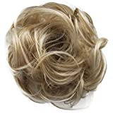 PRETTYSHOP Scrunchie Bun Up Do Hair piece Hair Ribbon Ponytail Extensions Wavy Curly or Messy Various Colors