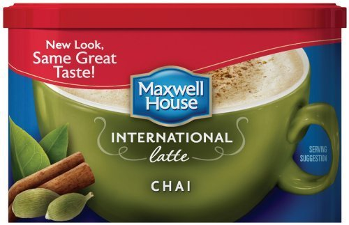 Maxwell House International Coffee Chai Latte, 9-ounce Cans (Pack of 3) by MAXWELL HOUSE