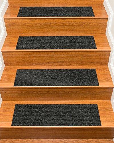 Naturalarearugs Halton Polyester Carpet Stair Treads