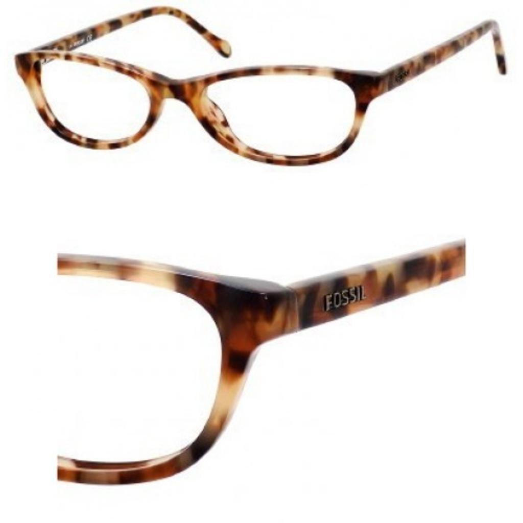 f0e925e7527 Fossil Mikayla 0DS7 Blonde Tortoise Eyeglasses  Amazon.ca  Clothing    Accessories