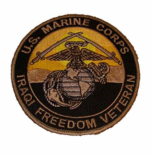 (U.S. Marine Corps Iraqi Freedom Veteran OIF Marine Vet Patch - Veteran Owned Business)