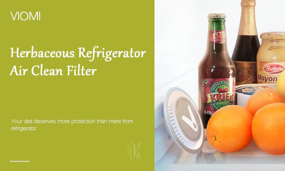 filtro HEPA para frigor/ífico Ozone sterilisation para refrig/érateur purificador de aire Nuevo Xiaomi viomi