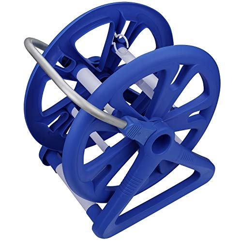 Aqua First NA8010 Pool Hose Reel, Blue