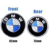 Automotive : Trooer Emblem Logo Replacement for BMW Hood/Trunk 82mm for All Models E30 E36 E34 E60 E65 E38 X3 X5 X6 3 4 5 6 7 8