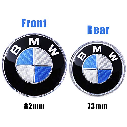 - Trooer Emblem Logo Replacement for BMW Hood/Trunk 82mm for All Models E30 E36 E34 E60 E65 E38 X3 X5 X6 3 4 5 6 7 8