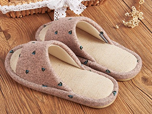 Cattior Vlas Open Teen Huis Slippers Dames Slippers Roze