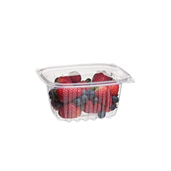 16b6a4679be3 Eco-Products - Renewable & Compostable Rectangular Deli Container with Lid  - 16oz. Container - EP-RC16 (Case of 300)
