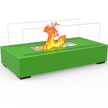 Regal Flame - Brasero sin respiradero modelo Utopia para interior/exterior, de sobremesa,