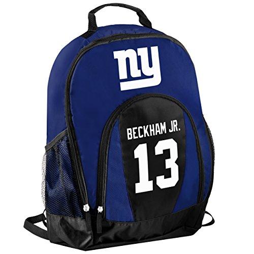 TBFC New York Giants Official NFL Primetime Backpack Gym Bag - Odell Beckham Jr. by TBFC