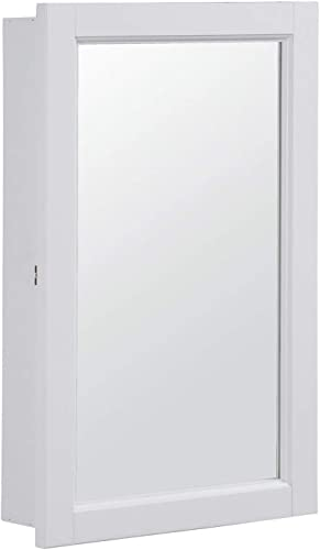 Design House 590505 16×26 Concord Ready-To-Assemble Single Door Medicine Cabinet