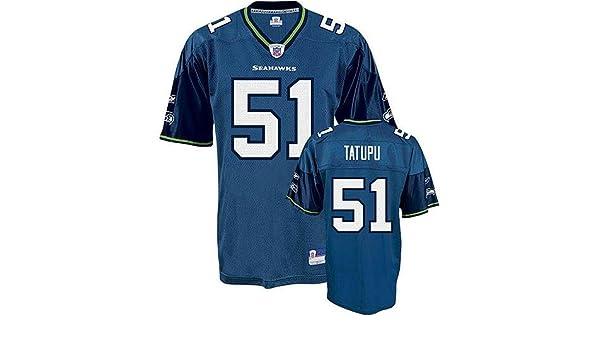 f6438567 Amazon.com : Lofa Tatupu #51 Seattle Seahawks Youth NFL Replica ...