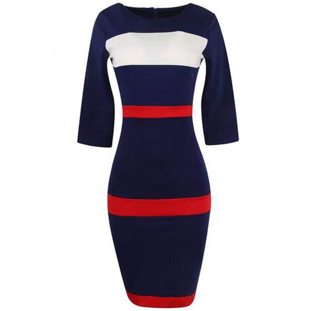 Damen Kleider Blusekleid Hemdkleider Frauen Kleid Partykleid