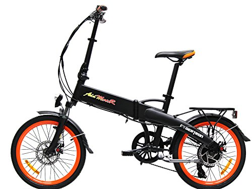 Addmotor CYBERTRON C350 Folding Electric Bicycle For Sale 350W 36V Bafang Motor 10.4AH Samsung Stelth Battery With Fork Suspension